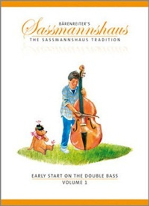 Sassmannshaus Early Start on the Double Bass Volume 1