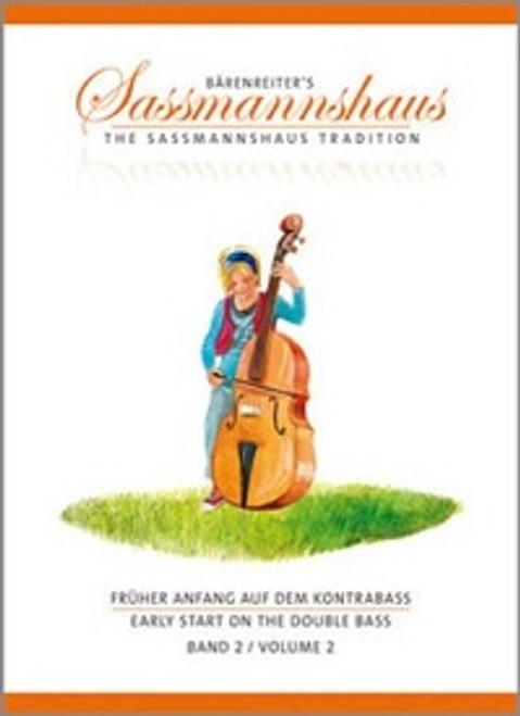 Sassmannshaus Early Start on the Double Bass Volume 2