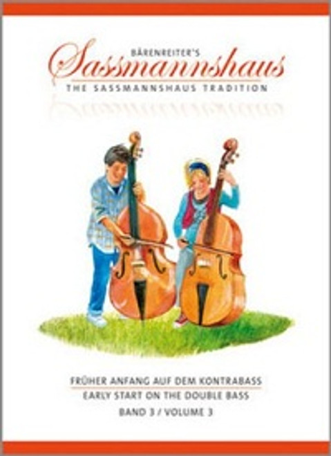 Sassmannshaus Early Start on the Double Bass Volume 3