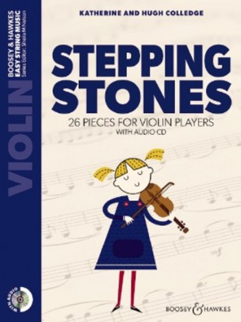 Colledge, Hugh & Katherine: Stepping Stones for Violin with Audio CD