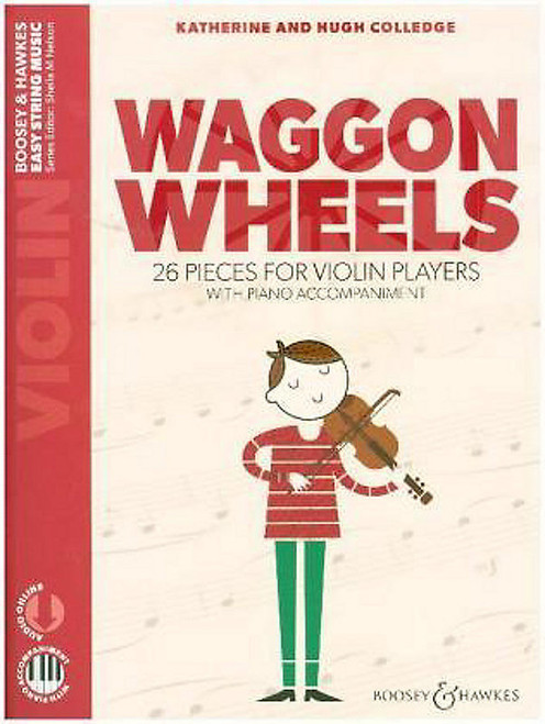 Colledge, Hugh & Katherine: Waggon Wheels for Violin and Piano