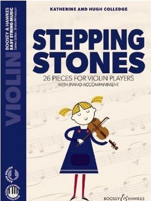 Colledge, Hugh & Katherine: Stepping Stones for Violin and Piano Accompaniment