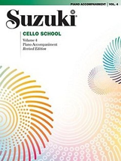 Suzuki Cello School Volume 4 Piano Accompaniment