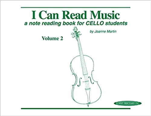 I Can Read Music Volume 2 (Cello)