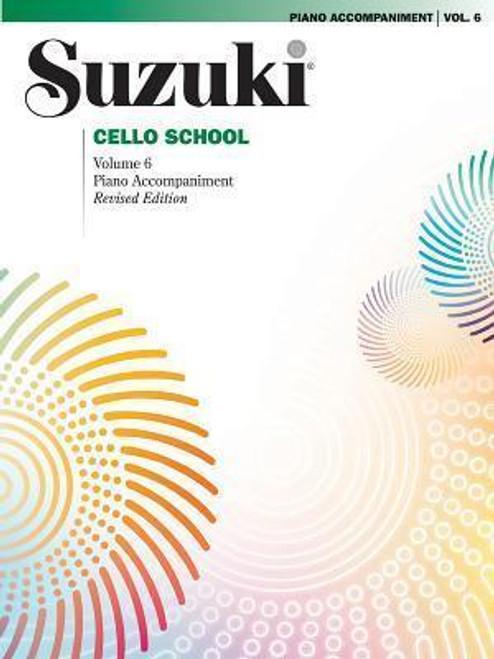 Suzuki Cello School Volume 6 Piano Accompaniment