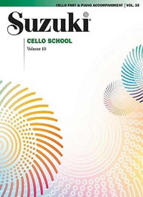 Suzuki Cello School Volume 10 Cello Part & Piano Accompaniment