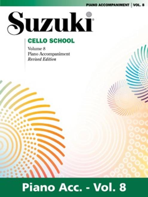 Suzuki Cello School Volume 8 Piano Accompaniment
