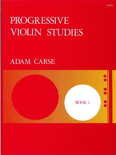 Carse, Adam: Progressive Violin Studies Book 1
