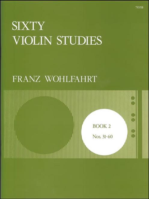 Wohlfahrt, Franz: Sixty Studies, Op. 45. Book 2