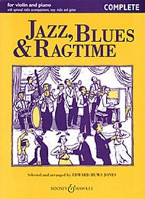 Huws Jones, Edward: Jazz, Blues & Ragtime Complete for Violin & Piano