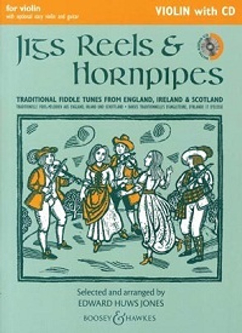 Huws Jones, Edward: Jigs, Reels & Hornpipes for Violin with CD