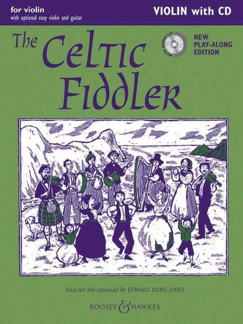 Huws Jones, Edward: The Celtic Fiddler for Violin with CD