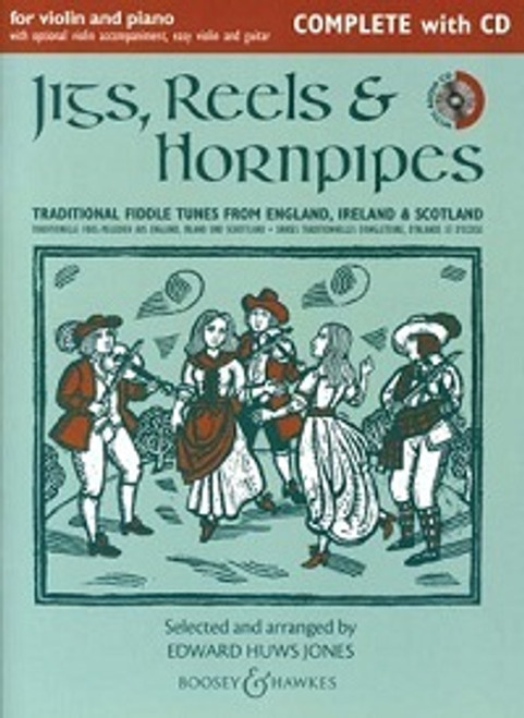 Huws Jones, Edward: Jigs, Reels & Hornpipes for Violin & Piano Complete with CD