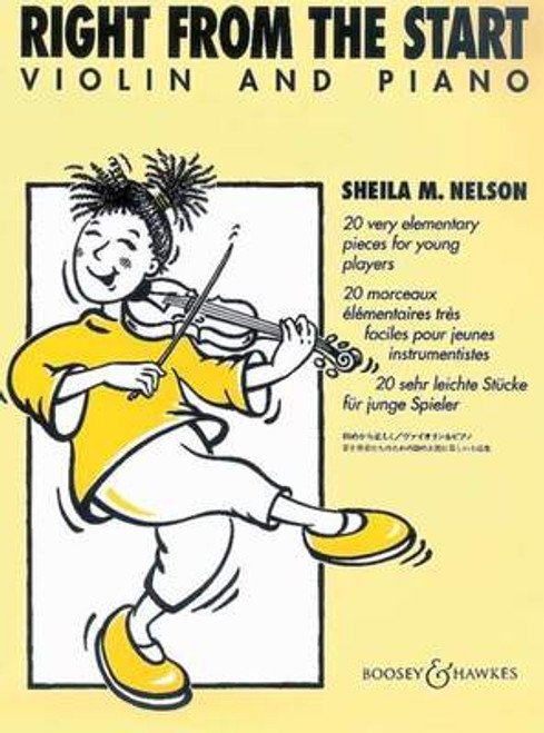 Nelson, Sheila: Right from the Start for Violin & Piano