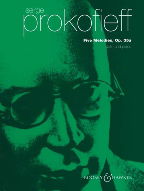 Prokofieff, Serge: Five Melodies Op. 35a for Violin & Piano