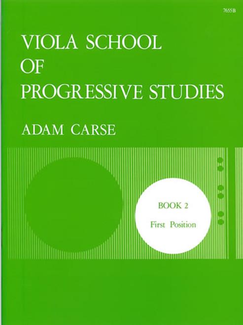 Carse, Adam: Viola School of Progressive Studies. Book 2