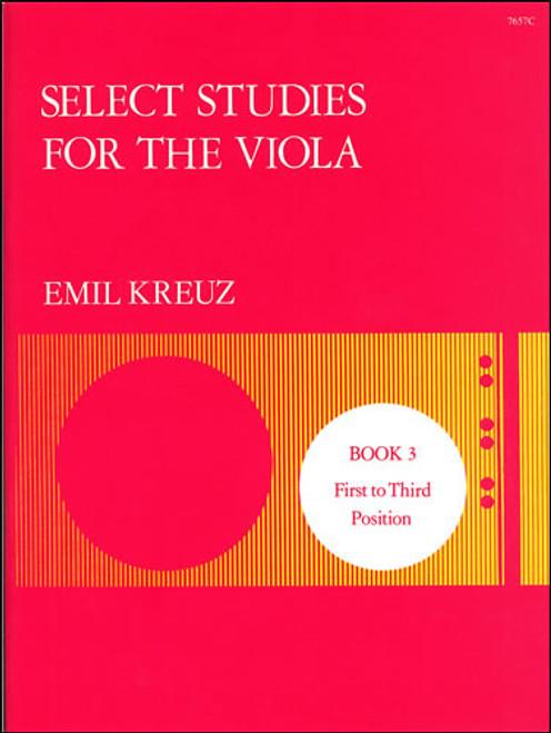 Kreuz, Emil: Select Studies. Book 3