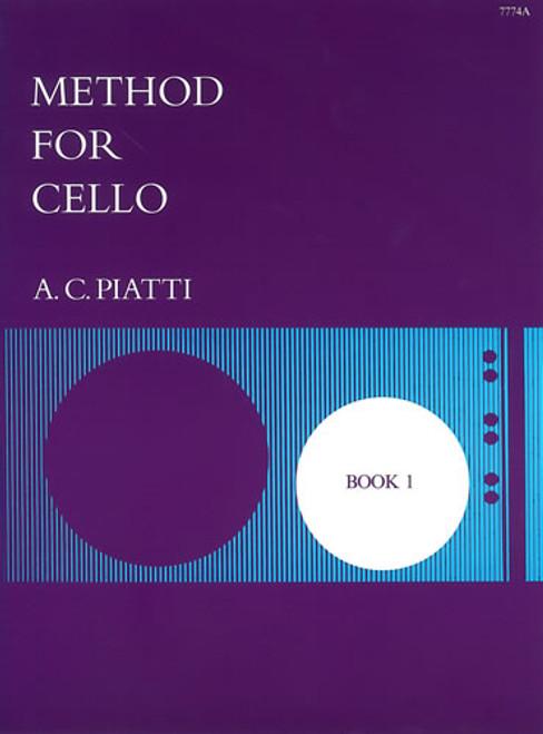 Piatti Method For Cello Book 1