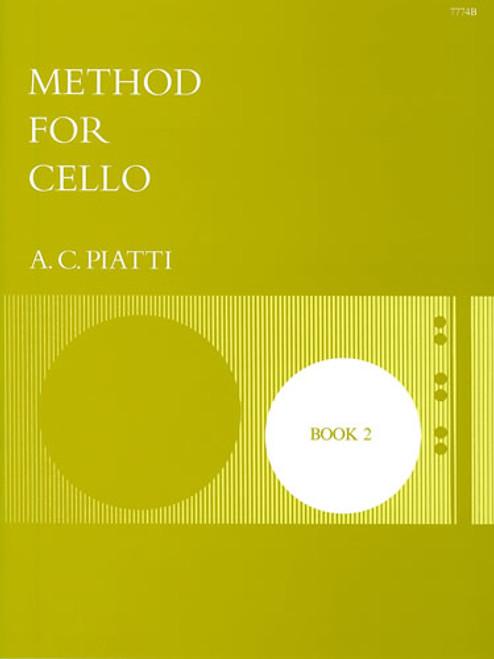Piatti Method For Cello Book 2