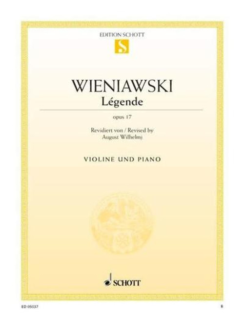 Wieniawski, Henri: Legende Op. 17 for Violin & Piano