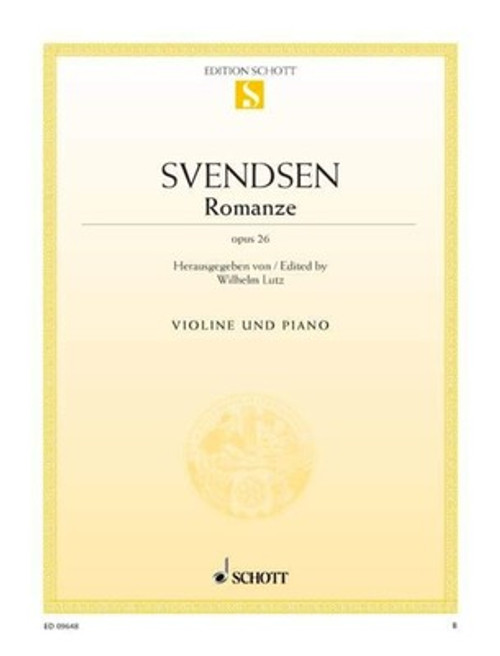 Svendsen, Johan Severin: Romance Op. 26 for Violin & Piano