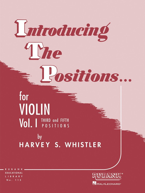 Whistler, Harvey: Introducing the Positions for Violin Volume 1