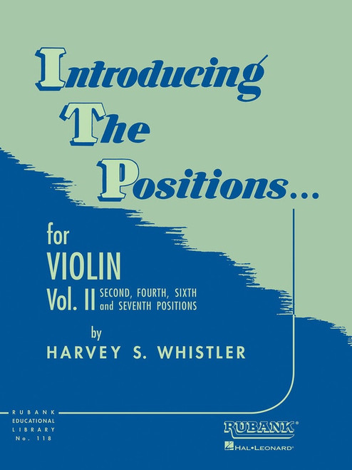 Whistler, Harvey: Introducing the Positions for Violin Volume 2