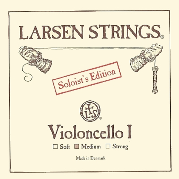 """A"" Larsen Cello String 4/4 (single) Soloist Edition Medium"