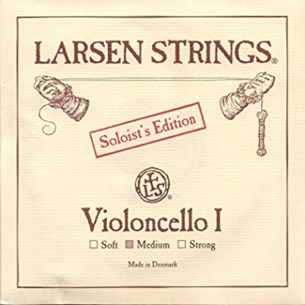 *SALE* Larsen Cello 4/4 String Set Solo - Medium Tension