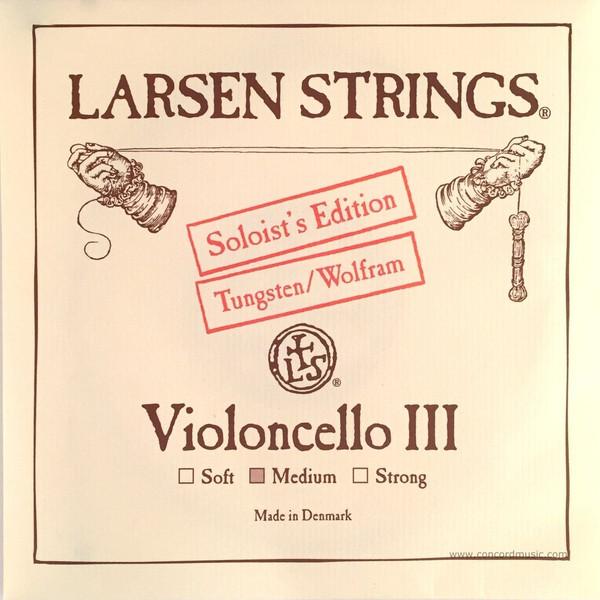 """G"" Larsen Cello String 4/4 (single) Soloist Edition Medium"