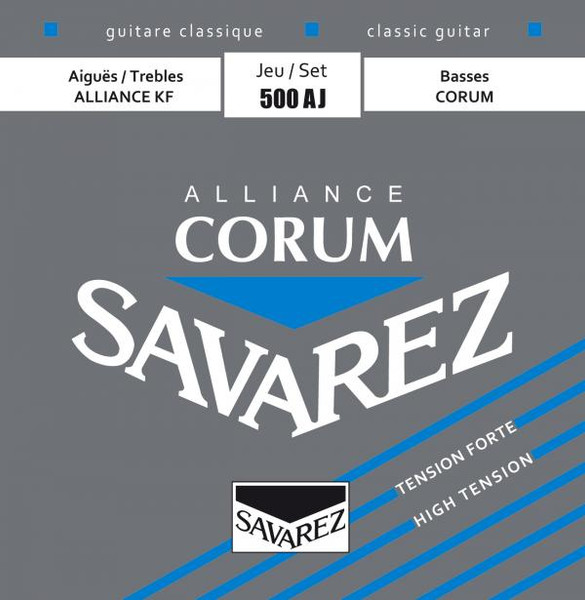 Savarez Corum Alliance Nylon Guitar Strings (Full Set) - High Tension