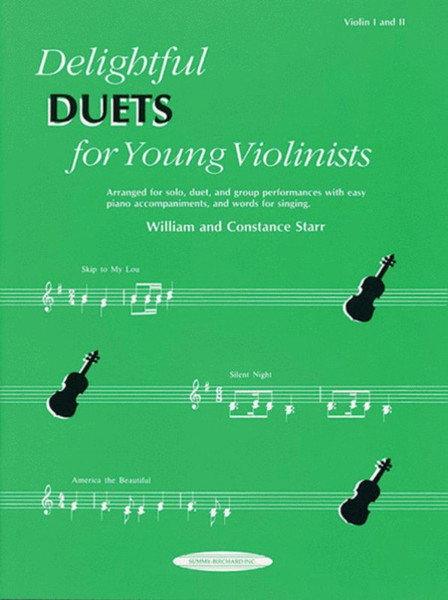 Delightful Duets for Young Violinists