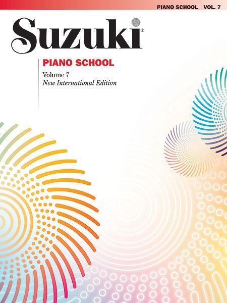 Suzuki Piano School Volume 7 Book only