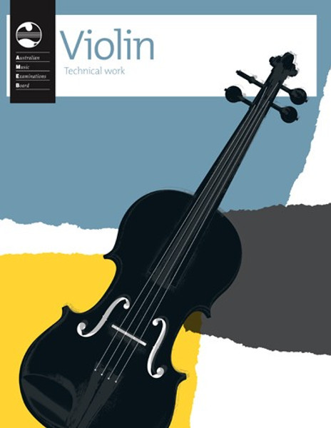 AMEB Violin Technical Work Book
