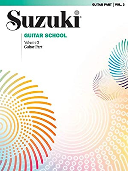 Suzuki Guitar School Volume 3