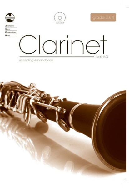 AMEB Clarinet Series 3 Grade 3 to 4 Recording & Handbook