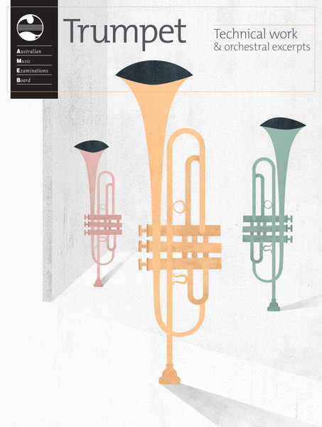 AMEB Trumpet Series 2 Technical Workbook & Orchestral Excerpts