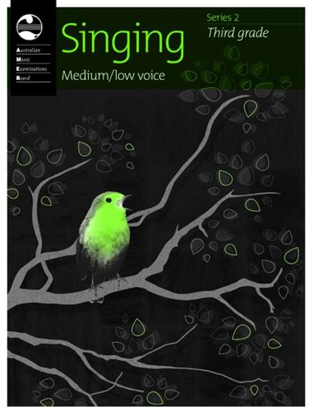 AMEB Singing Series 2 Grade 3 (Medium/Low Voice)