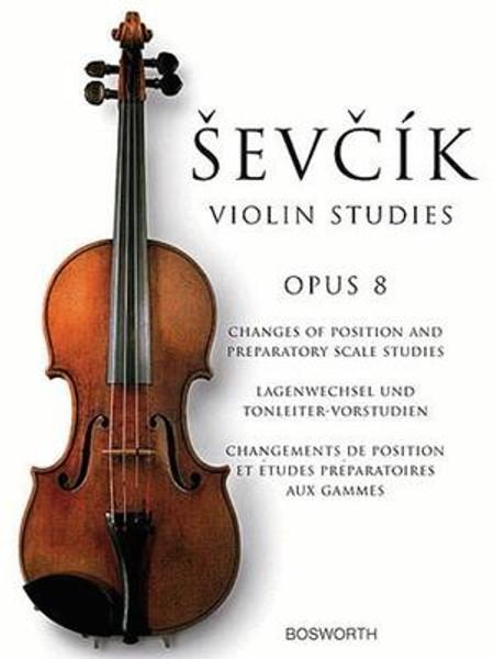 Sevcik, Otakar: Violin Studies Op. 8