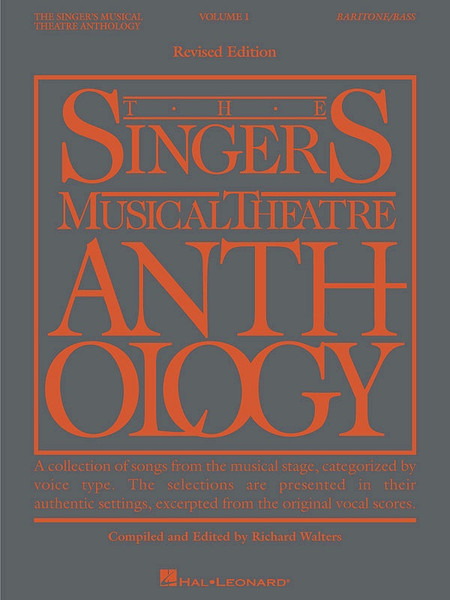 The Singers Musical Theatre Anthology for Baritone/Bass