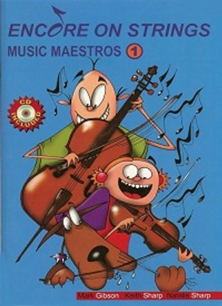 Encore On Strings Music Maestros 1 for Violin