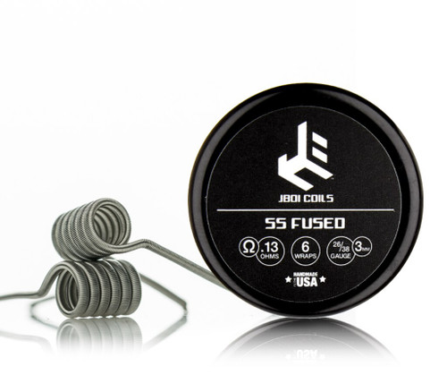 JBOI - SS Fused Clapton .13Ω
