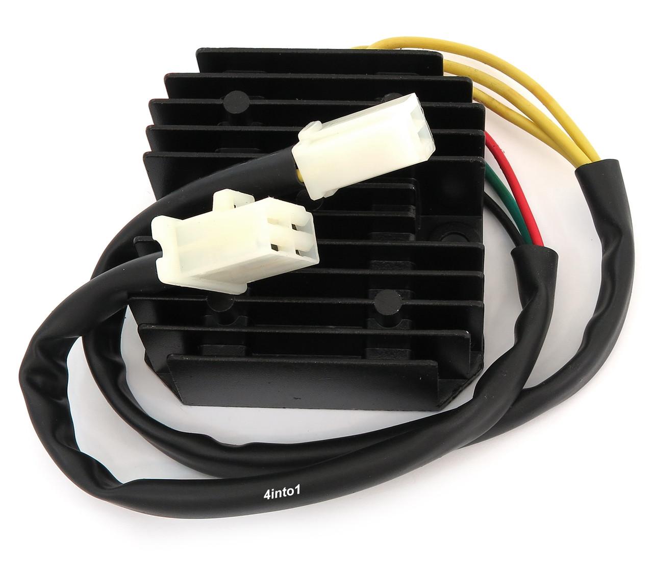 Regulator / Rectifier - Lithium & Lead Acid - Honda CM200 CB/CM400/450 FT/ GB5004into1.com