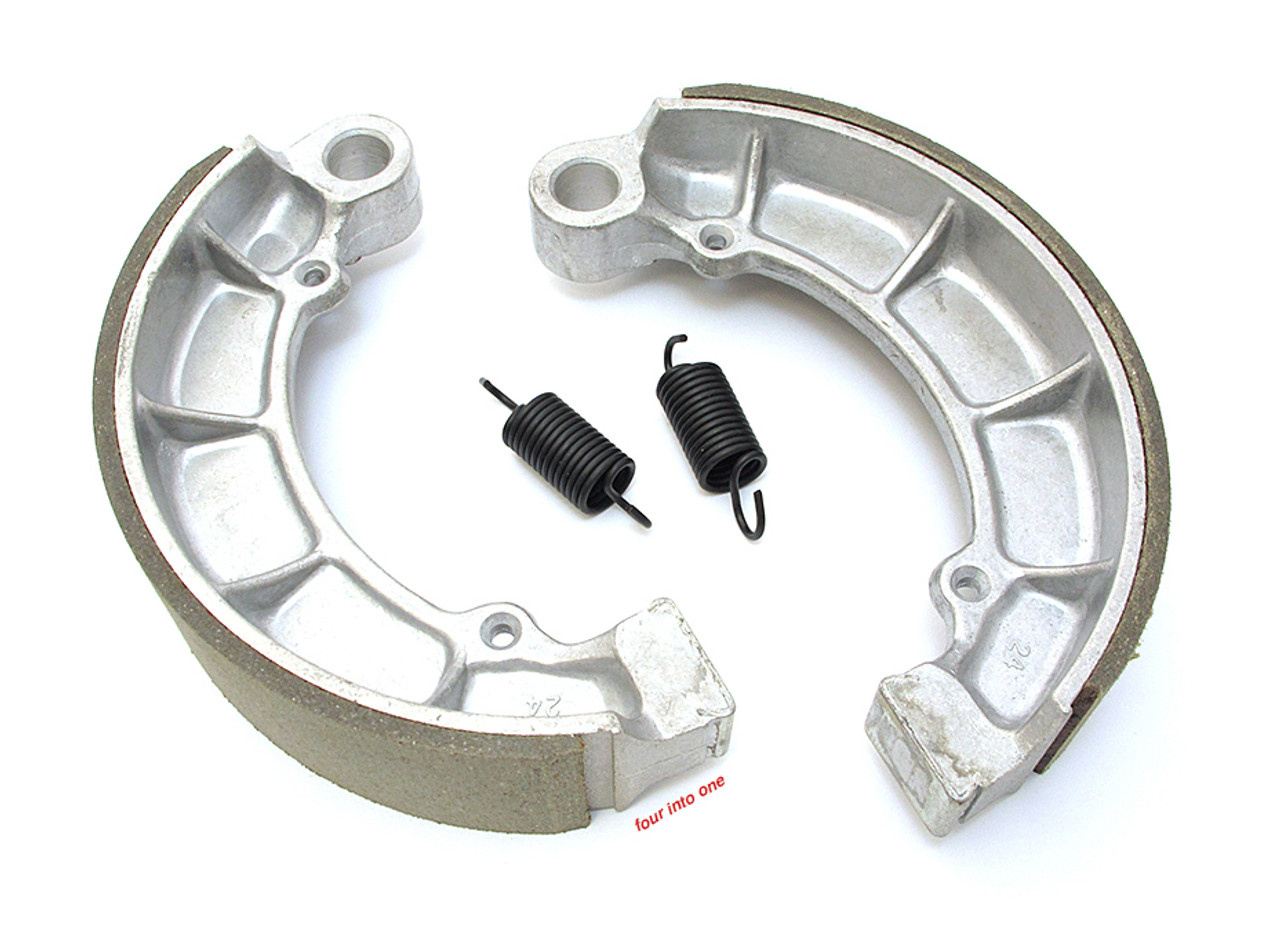96-3007 Compatible with Honda BikeMaster Rear Brake Shoes