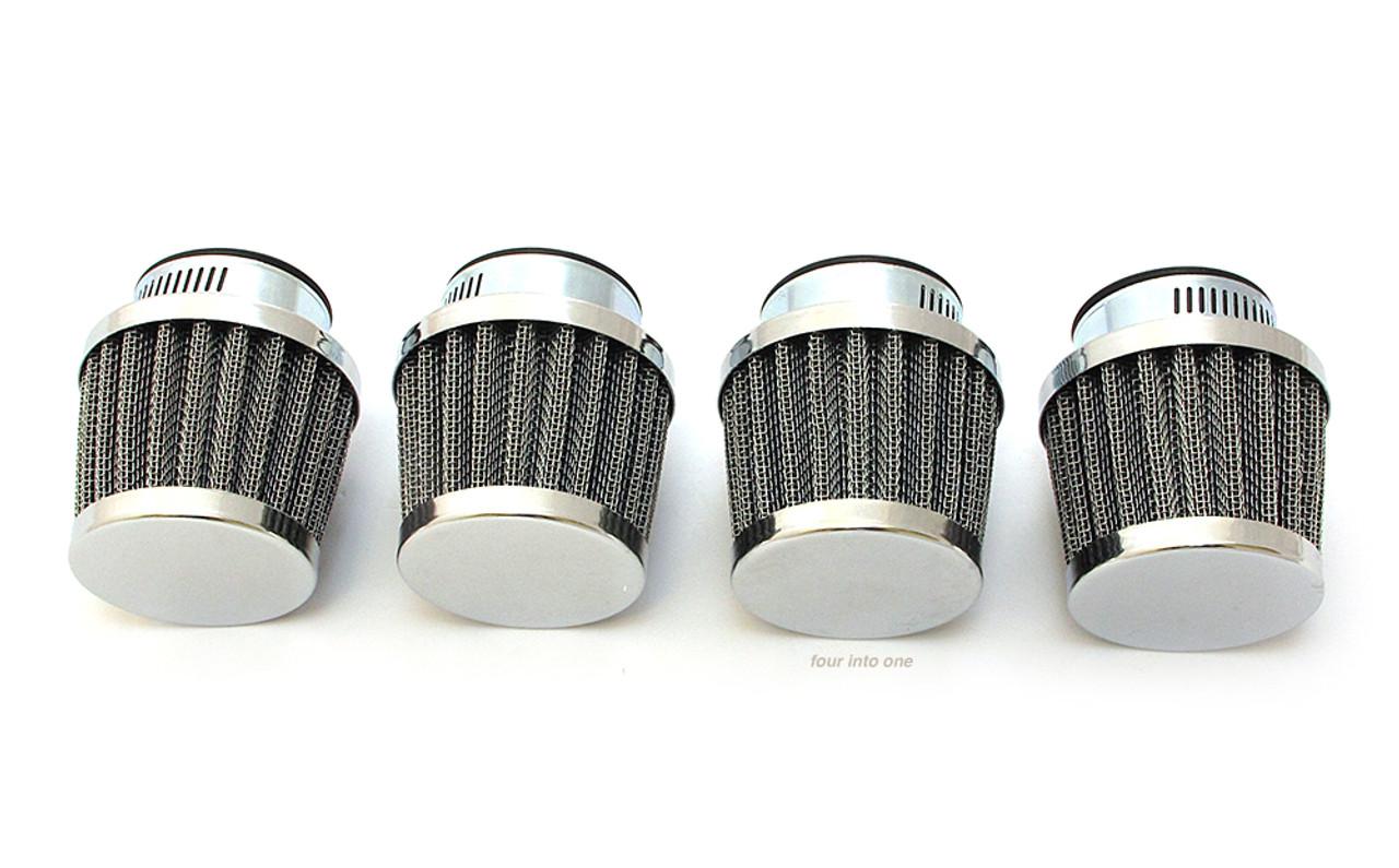Almencla Air Filter Pod 54mm Fits for Honda CB750 CB900 KZ550 GS550 CB750 CB750K CB750SC Dirt Bike Motorcycle