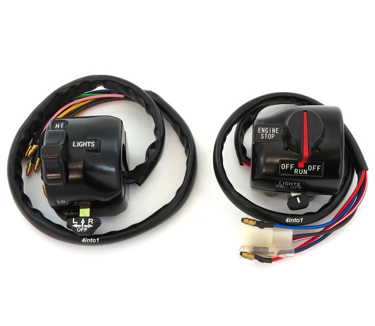 Genuine Yamaha Right Handlebar Switch /& Front Brake Lever 3E1-82720-20 V50