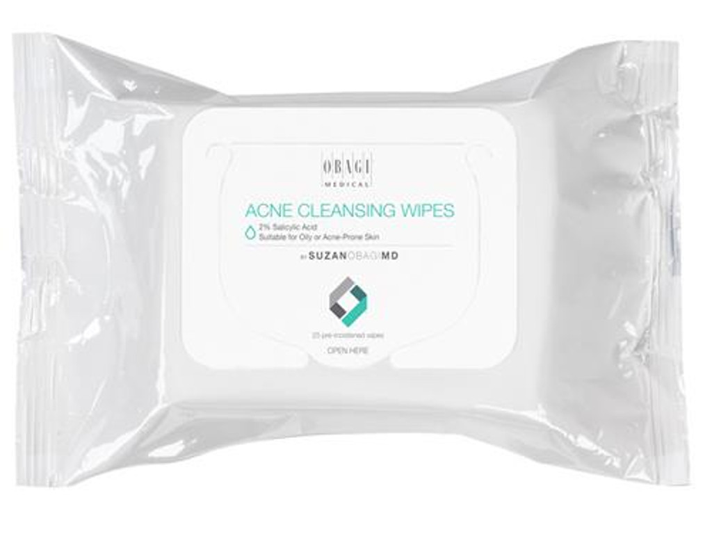 SUZAN OBAGI MD Acne Cleansing Wipes 25 Wipes