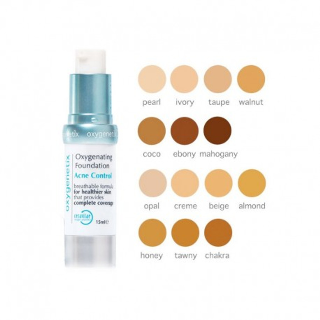 Oxygenetix Oxygenating Foundation Acne Control - Pearl
