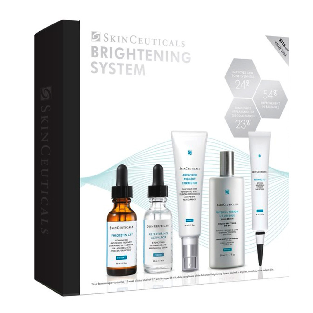 Skinceuticals Advanced Brightening System  5 piece kit