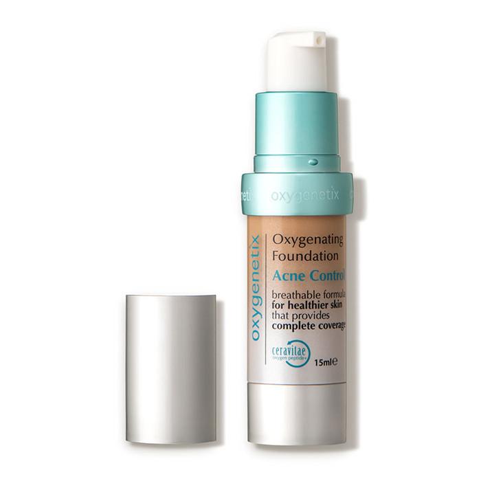 Oxygenetix Oxygenating Foundation Acne Control - Honey